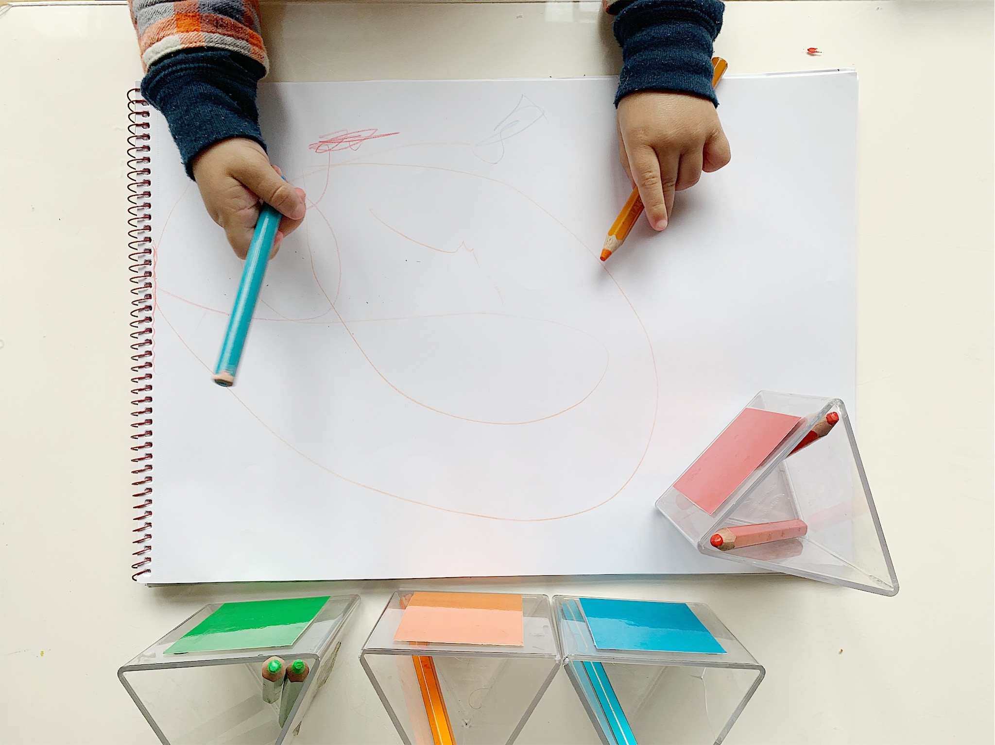 A Montessori approach to Toddler Creativity