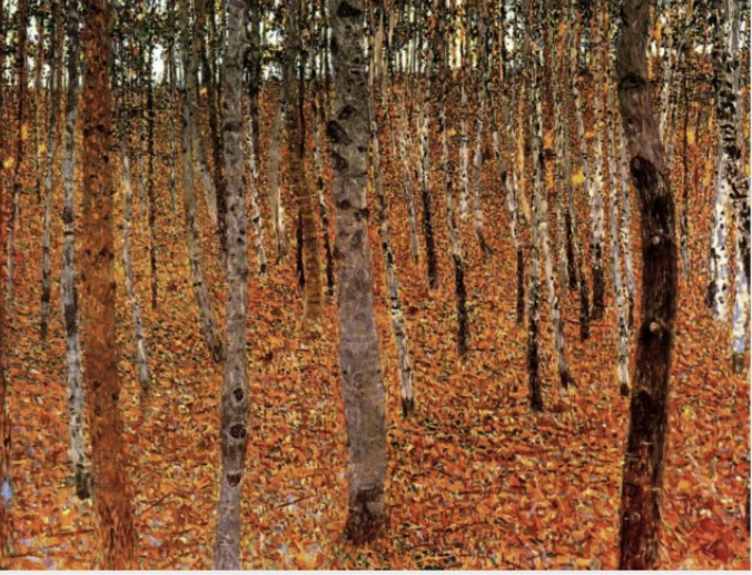 Gustav Klimt, Birch Forest I, 1902