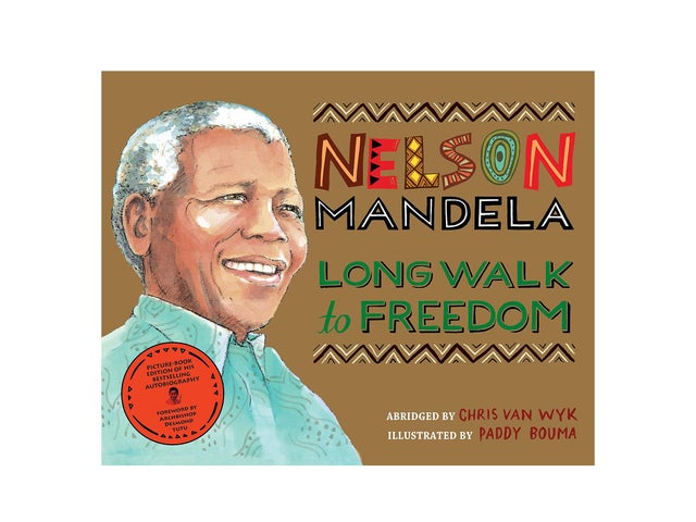 Nelson Mandela Illustrated book