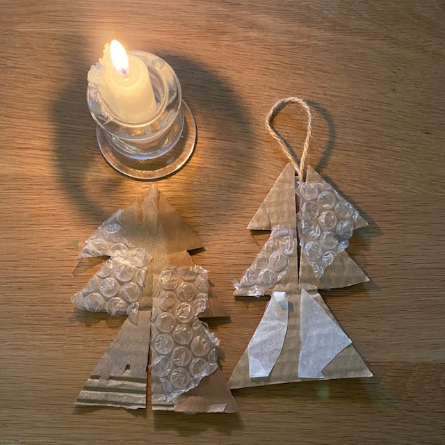 cardboard christmas decorations